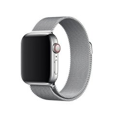 Ремешок для Apple Watch 38/40 mm Milanese Loop Silver