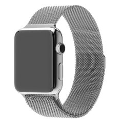 Ремешок для Apple Watch 42/44 mm Milanese Loop Silver