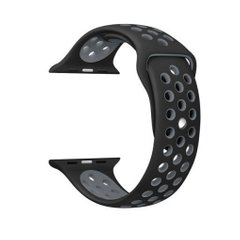 Ремешок для Apple Watch 40/38 mm Anthracite/Black Sport Band – M/L