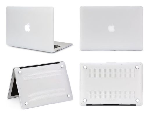 "Чехол накладка Matte Hard Shell Case для Macbook Pro Retina 15.4"" White"