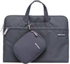 Сумка для Macbook 13 Gearmax Campus Slim Case 13.3' Gray