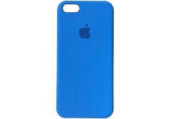 Silicone Case iPhone 5/5S/SE - Blue