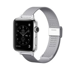 Ремешок для Apple Watch 42/44 mm Mesh Steel bracelet, Silver