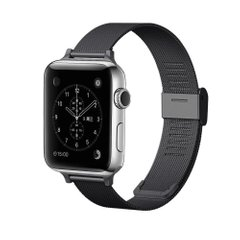 Ремешок для Apple Watch 42/44 mm Mesh Steel bracelet, Black