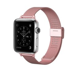 Ремешок для Apple Watch 42/44 mm Mesh Steel bracelet, Rose Gold