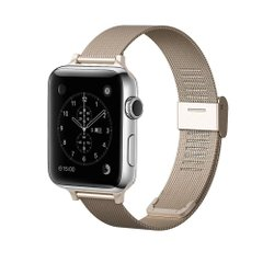 Ремешок для Apple Watch 42/44 mm Mesh Steel bracelet Gold