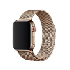 Ремешок для Apple Watch 38/40 mm Milanese Loop Gold