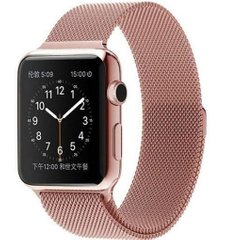 Ремешок для Apple Watch 38/40 mm Milanese Loop Rose Gold