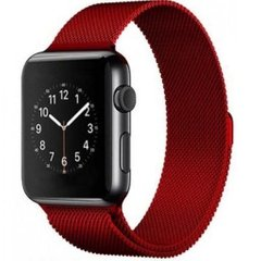 Ремешок для Apple Watch 38/40 mm Milanese Loop Red