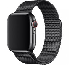 Ремешок для Apple Watch 44/42mm Milanese Loop Black