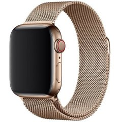 Ремешок для Apple Watch 42/44 mm Milanese Loop Gold