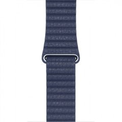 Ремешок для Apple Watch 38/40 mm Leather Loop Midnight Blue