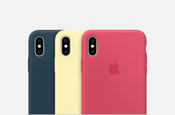 Silicone Case iPhone XS Max - Blue Horizon