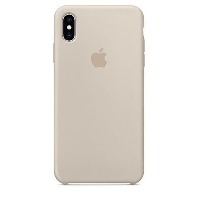 Silicone Case iPhone XS Max - Stone