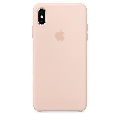 Silicone Case iPhone XS Max - Pink Sand