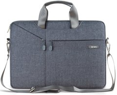 Сумка для Macbook 13 WiWu Pocket Sleeve 13.3'' Gray
