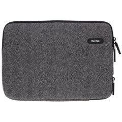 Чoхол для Macbook 13 WiWu Woolen Sleeve Black