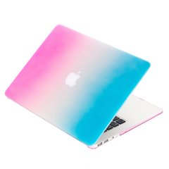 Чехол для Macbook Air 13,3 Soft Touch Pink/Blue