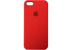 Silicone Case iPhone 5/5S/SE - Red